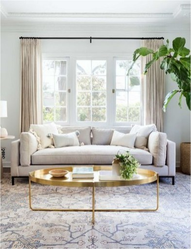 Natural Color Fall Living Room Ideas