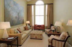 Simple Color Pallet for Tips and Tricks to Decorate a Narrow Living Room