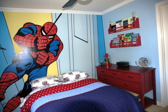 Spiderman for Various Unique Designs for Boys' Bedrooms