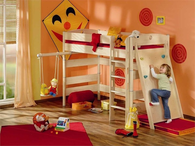 Orange for the Right Color of a Child's Bedroom