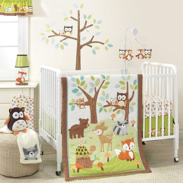 Woodland Animal Baby Room Ideas