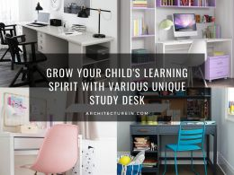 Grow Your Child's Learning Spirit With Various Unique Study Desk