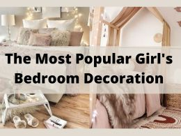 The Most Popular Girl's Bedroom Decoration