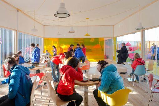 Microsoft Technology Pavilion, Russia / Nowadays