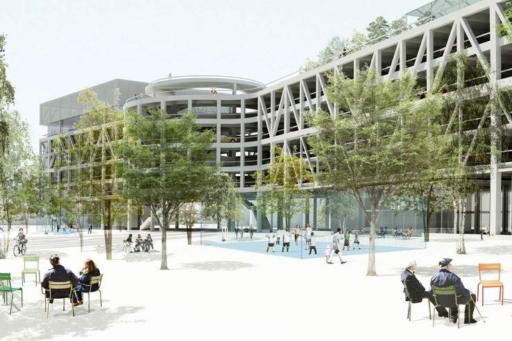 Parking & More, Switzerland / HHF Architects