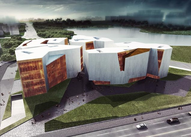 Wuhu Urban Planning Exhibition, Office and Archive, China / RTA Office