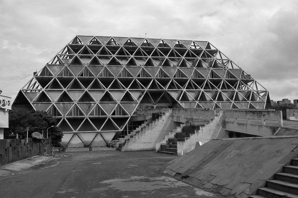 Hall of Nations, New-Delhi / 1971-72 Architect: Raj Rewal Structural Engineer: Mahendra Raj