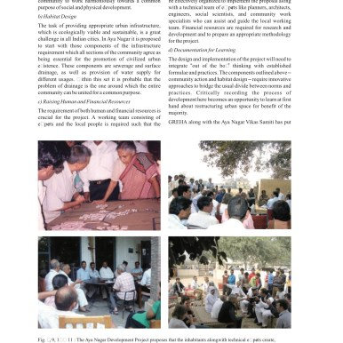 Urban Renewal by Citizens - Case Study by M.N.Ashish Ganju