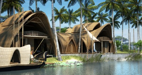 Kumarakom Resort, Kerala, Morphogenesis Architects