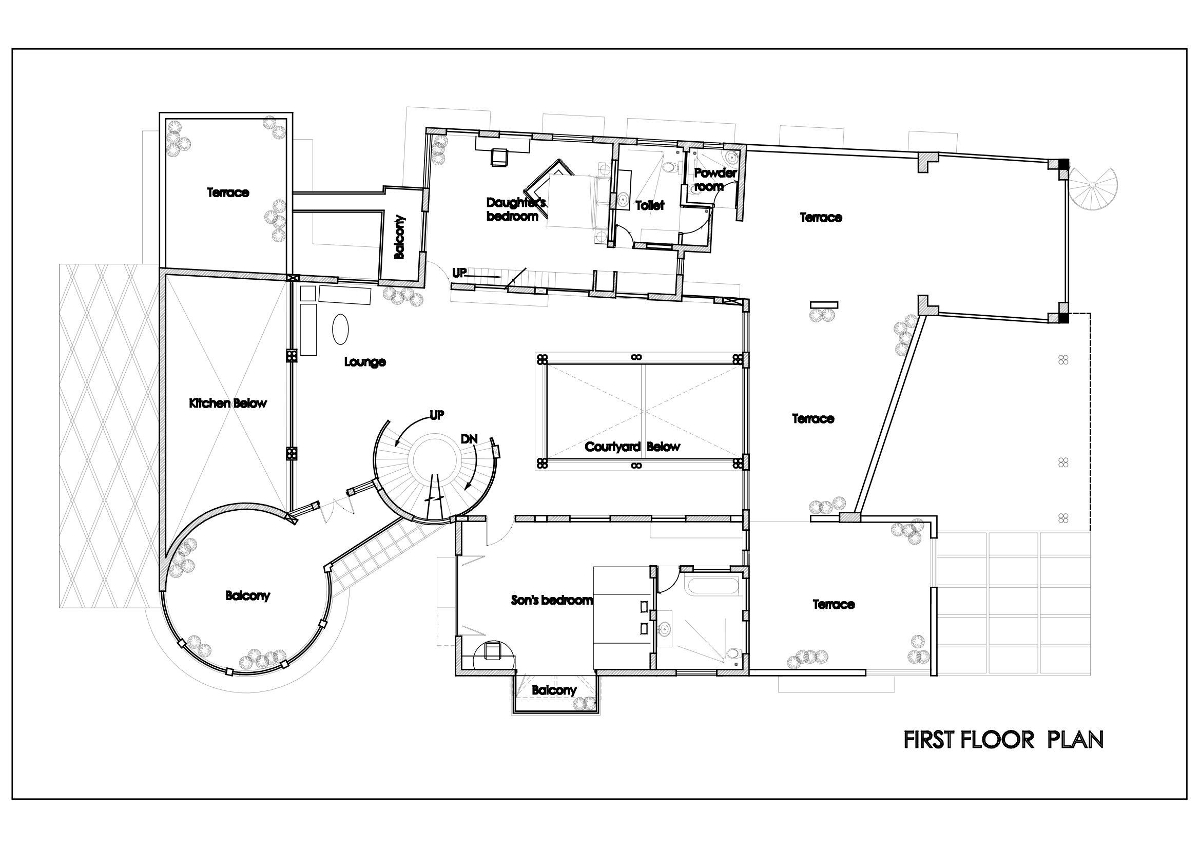 House of Five Elements - Manasaram Architects 5