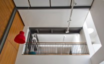 Akshat Bhatt - Architecture DisciplineB23 B- an old fashioned steel railing animates the connection between spaces more than new materials