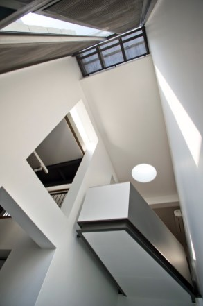 Akshat Bhatt - Architecture DisciplineB23 F- the main circulation expresses the double height character of the public spaces