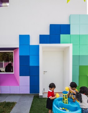 Tetrisception - Renesa Architecture Design Studio - New Delhi