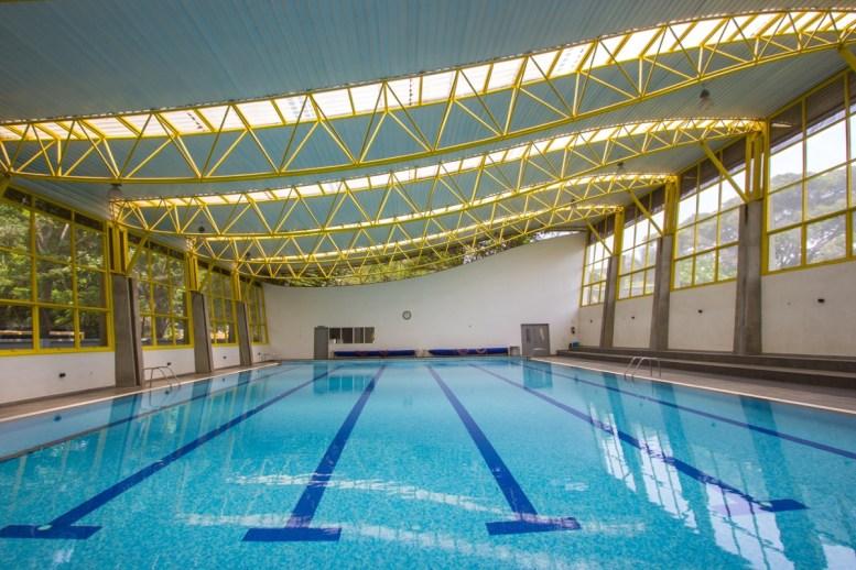 Mallya Aditi International School Pool House