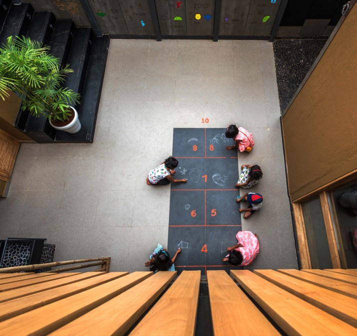 The outdoor classroom - Studio Infinity, Pune