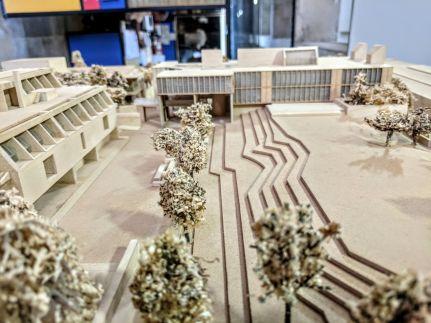 CEPT University Academic Hub proposal by Christopher Benninger