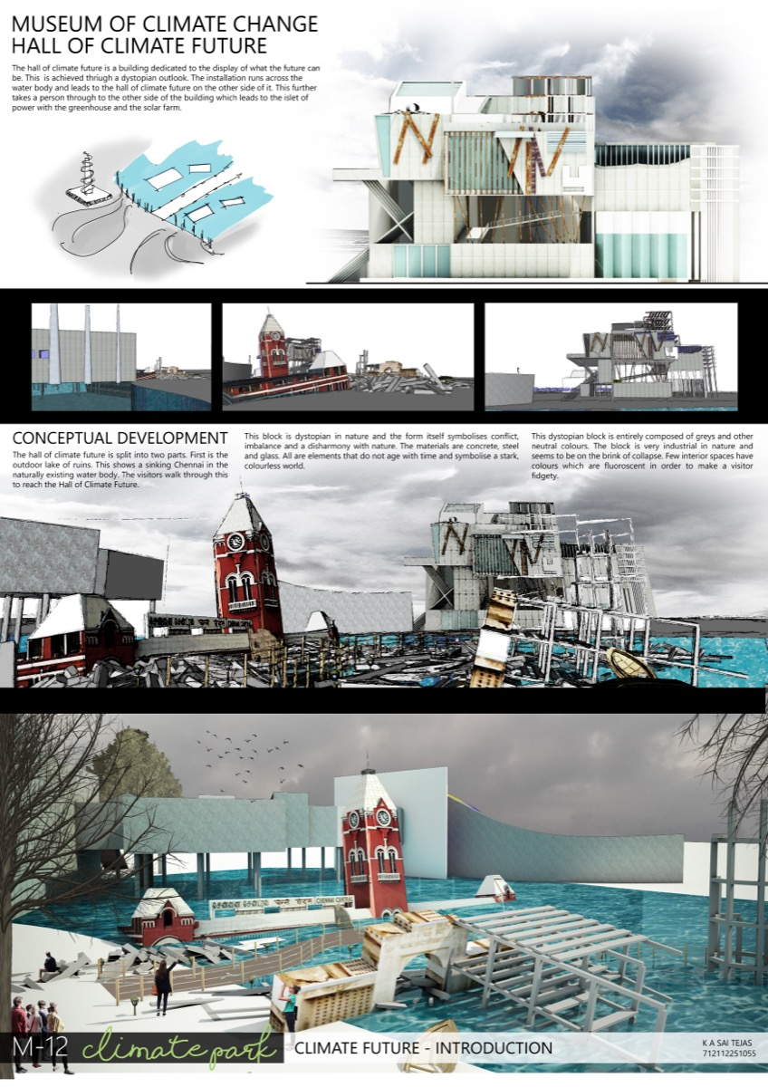 B Arch Thesis - Climate Park - By Sai Tejas K A, McGan's