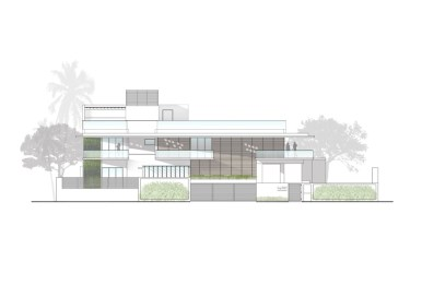 The Long House - Sunil Patil Architects-FIRST FLOOR PLAN