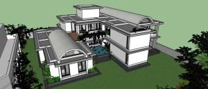 Bathal Residence-Ranjeet Mukherjee- The Vrindavan Project