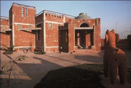 The American Institute of Indian Studies at Gurgaon by Space Design Consultants