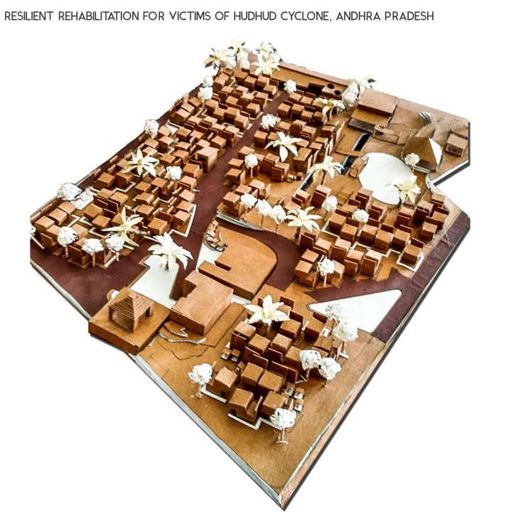 B.Arch Thesis: RESILIENT REHABILITATION FOR VICTIMS OF HUDHUD CYCLONE, ANDHRA PRADESH, by Sanand Telang 47