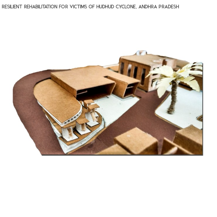 B.Arch Thesis: RESILIENT REHABILITATION FOR VICTIMS OF HUDHUD CYCLONE, ANDHRA PRADESH, by Sanand Telang 49