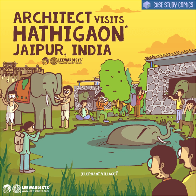 """Architects Who Do More: """"We address all the elephant's' in the room, with a touch of intelligent humor."""" - Anuj Kale, Leewardists 2"""