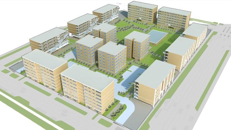 International Design Competition - STANDARD HOUSING & RESIDENTIAL DEVELOPMENT - MOSCOW, Horizon Design Studio 1