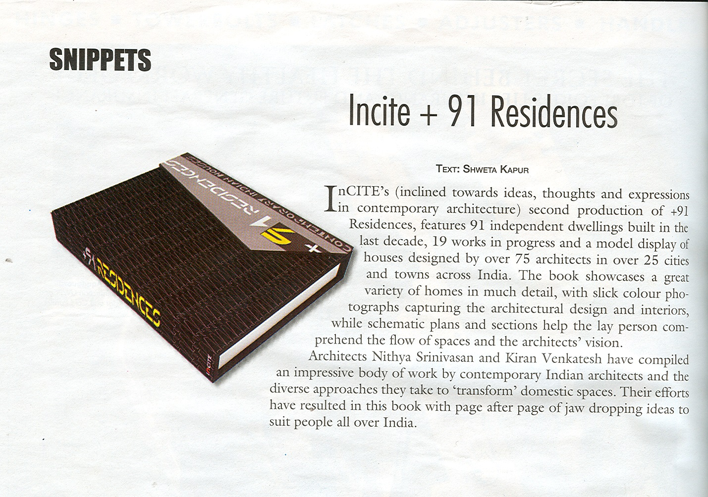 +91 RESIDENCES – Contemporary Indian Houses, by Incite 3