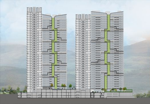 Reinventing Modern Living - Tata Housing 'Serein' at Thane, by Edifice Consultants 144