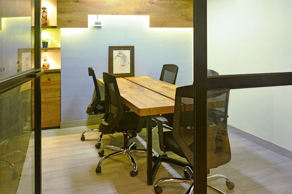 YELLOW IS THE NEW BLACK, Auronova Office at Mumbai - by THE DESIGN CHAPEL 7