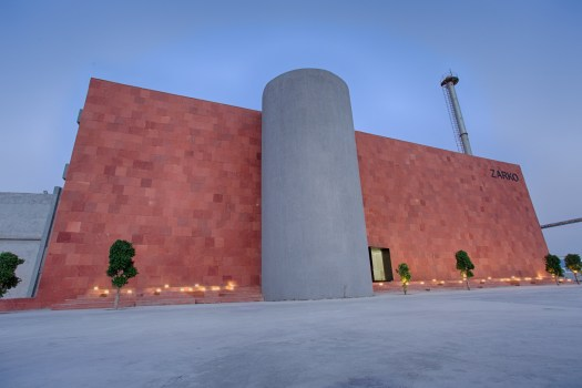 Zarko, office for ceramic tile manufacturing company at Morbi, Gujarat, by Bridge Studio 198