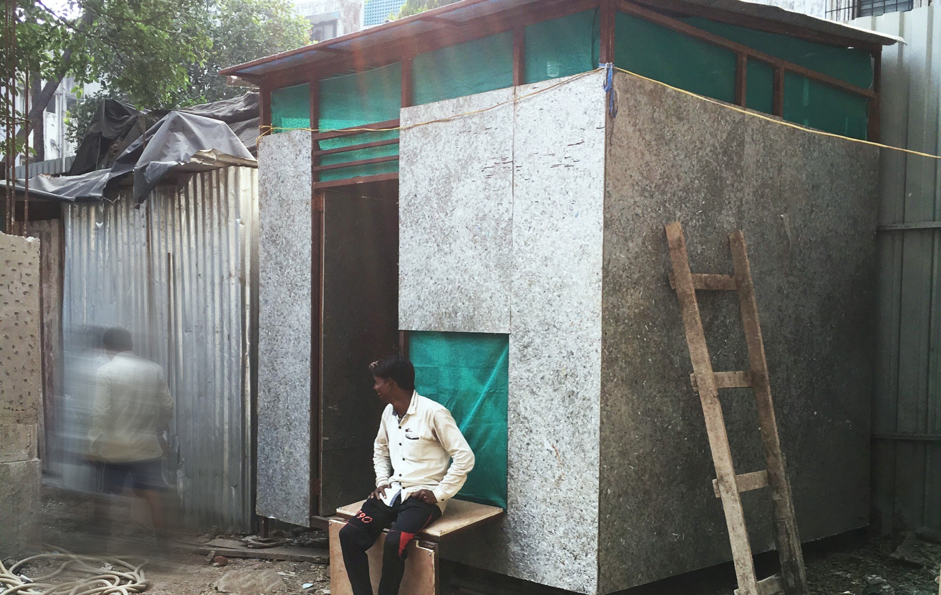 Housing for migrant construction workers - Aniket Risbud