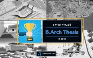 B.Arch thesis - Most viewed in 2018