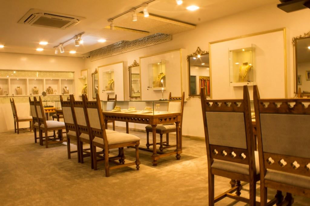 Interior Design of Shree Nandita Jewels by SSS Design Studio