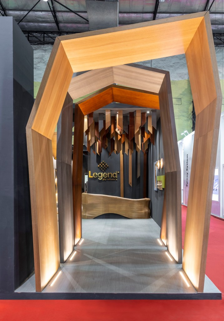 Exhibition Space at ACETECH, for Legend Ply and Veneers, by Spaces Architects @ka 33