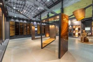 Exhibition Space for Legend Ply and Veneers - Spaces Arhcitects @ka