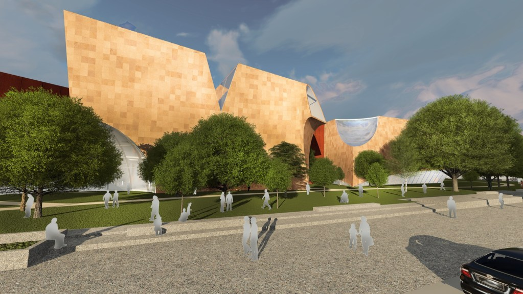 Shortlisted Competition Entry: National War Museum at New Delhi, by Collaborative Architecture 1