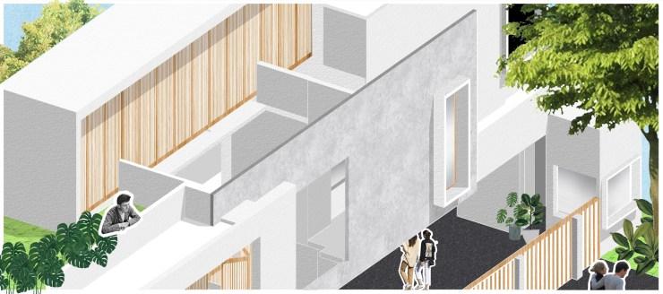 Casa Forma at Haldwani, Uttarakhand, byRenesa Architecture Design Interiors 6