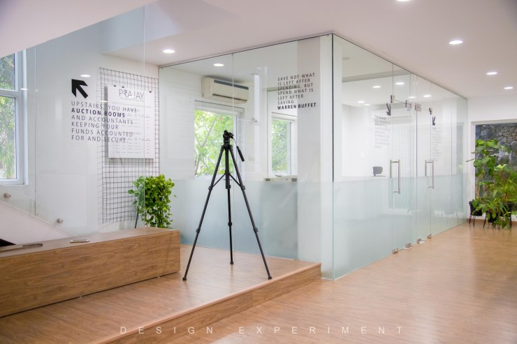 Renovation for Prajay Chit Fund Office, at Hyderabad, by Design Experiment 20