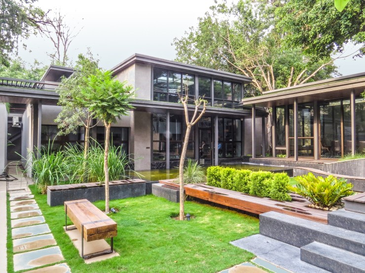 Tree House Office at New Delhi, by Flyyingseeds studio 1