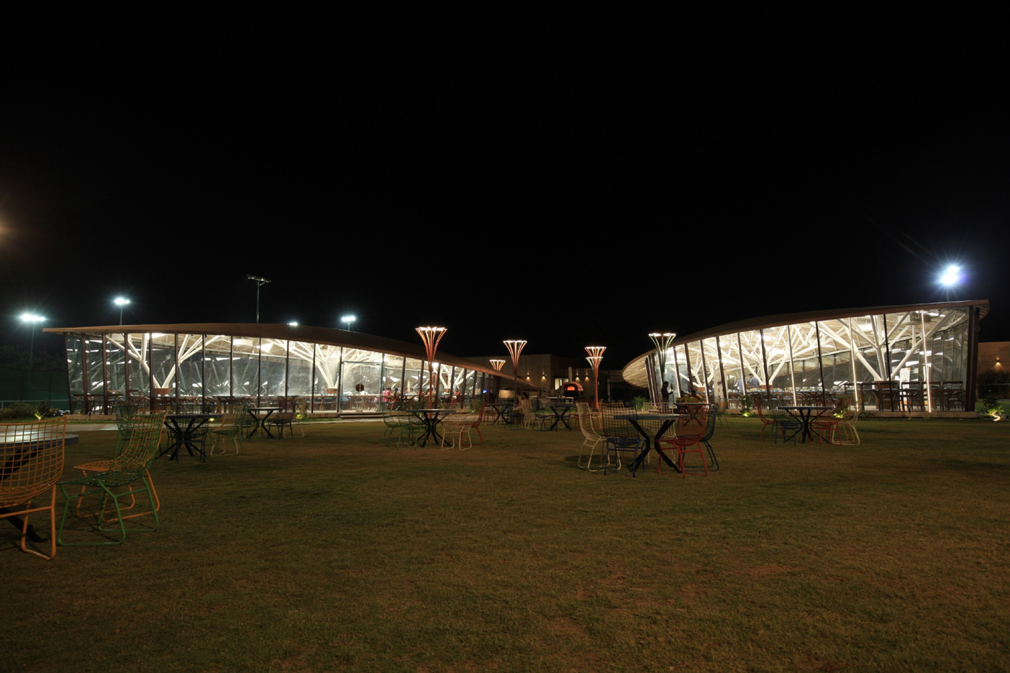 Pavilion- Garden of Spices, at Surat, Gujarat - Van Sthapati Associates 5