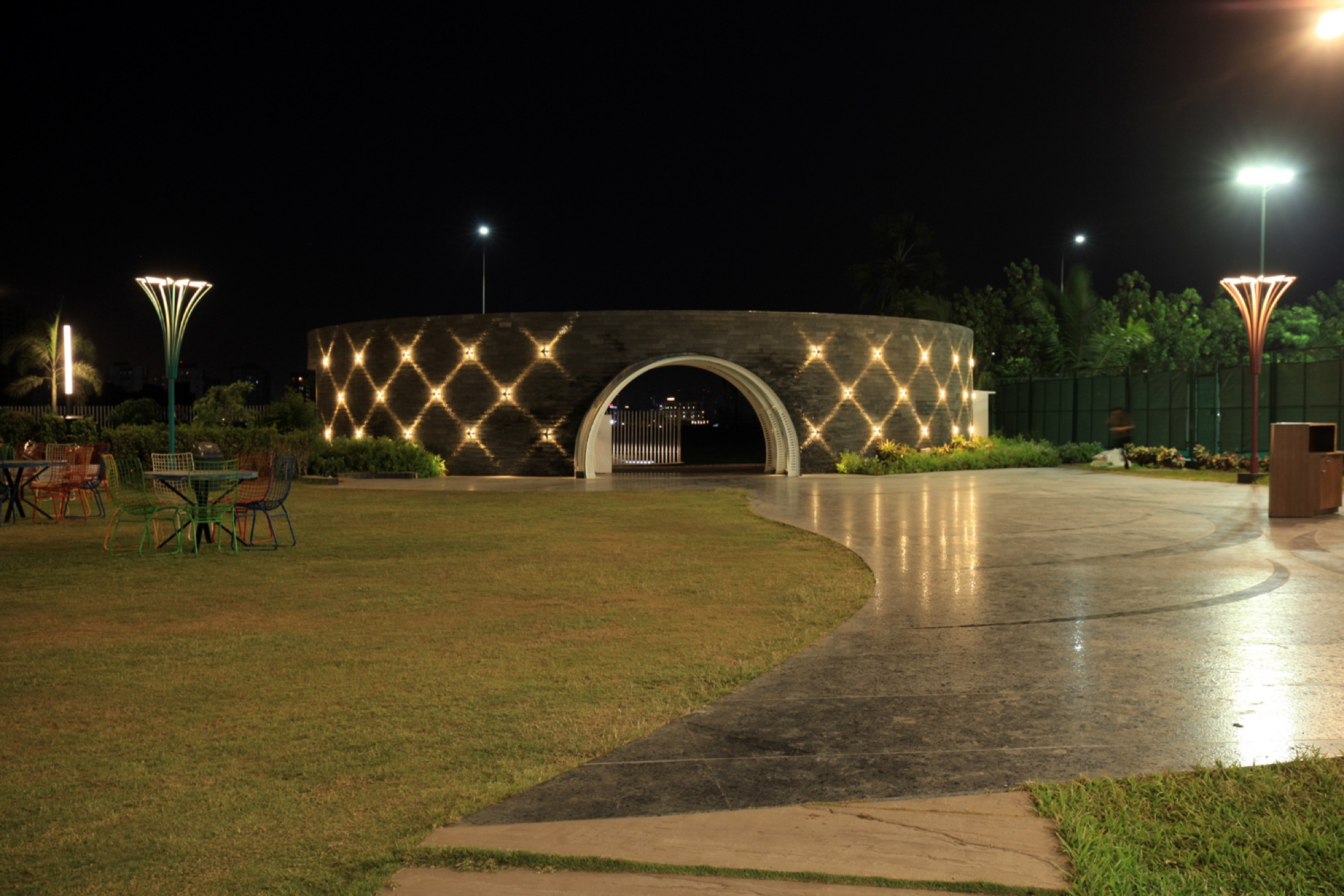 Pavilion- Garden of Spices, at Surat, Gujarat - Van Sthapati Associates 15
