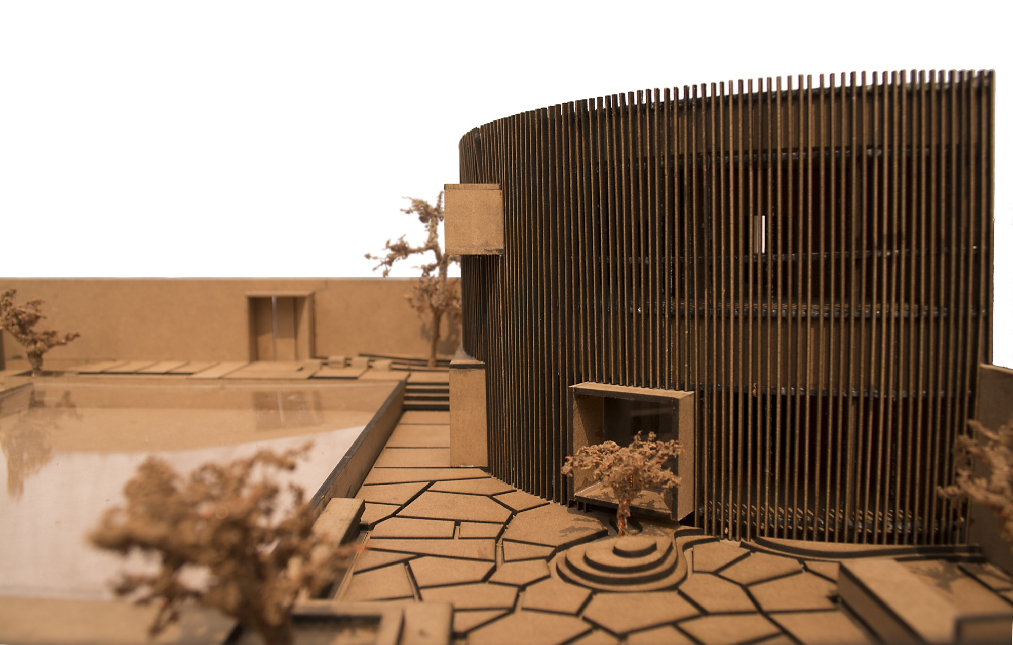 The House of Sweeping Shadows, Bansberia, West Bengal - Abin Design Studio 37