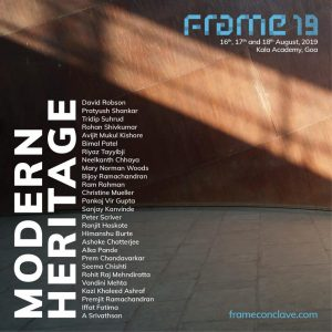 Frame Conclave 2019 Poster
