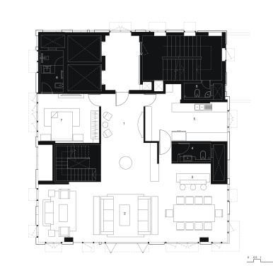 Duplex Lower Floor Plan