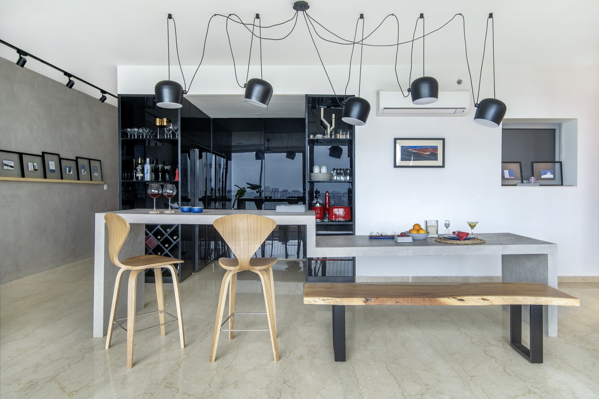 ESQUIRE: Interior Design for a residential Apartment at Mumbai, by Limehouse Design Studio 27