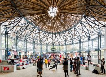 Koodaaram by Anagram Architects at Kochi Muziris Biennale
