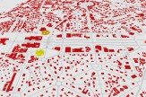 3D view of New Delhi to compare the forms