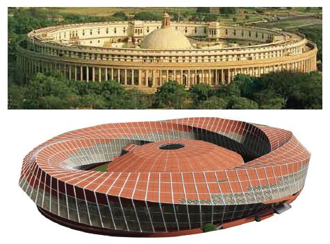 B.Arch Thesis: Emotions of a Democracy: New Parliament House of India, New Delhi Dhruval Shah 1